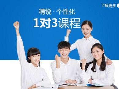 上海初中一对三辅导班